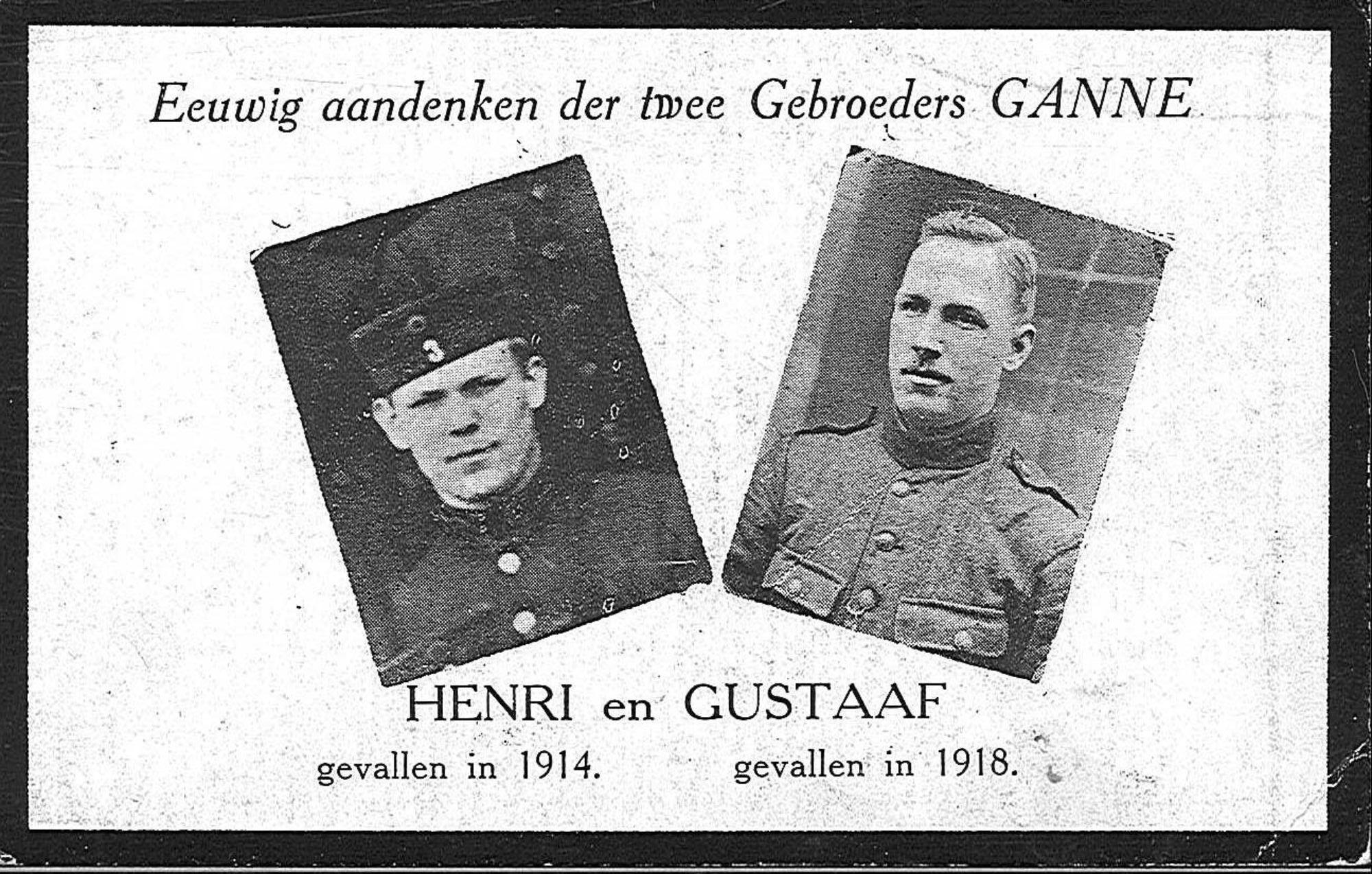 Henri Ganne en Gustaaf Ganne