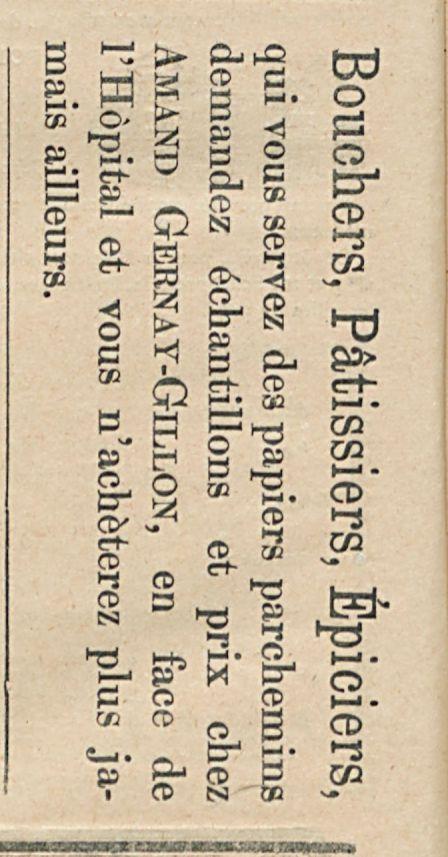 Bouchers P&tissiers Epiciers