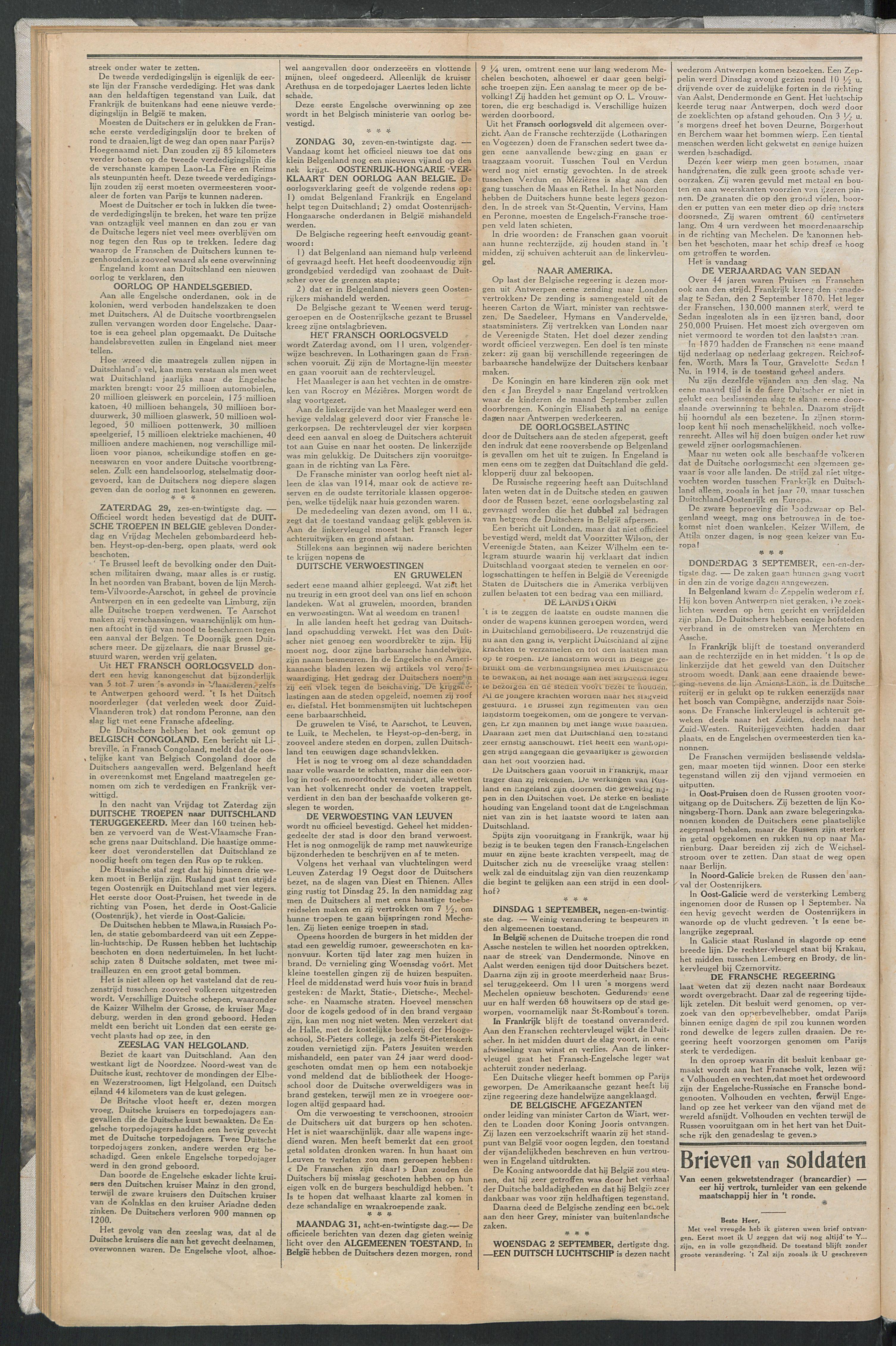 Het Kortrijksche Volk 1914-09-06 p2