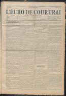L'echo De Courtrai 1914-03-26 p1