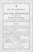 Silvia Dewitte