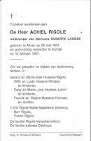 Achiel Rigole