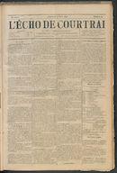 L'echo De Courtrai 1896-03-22