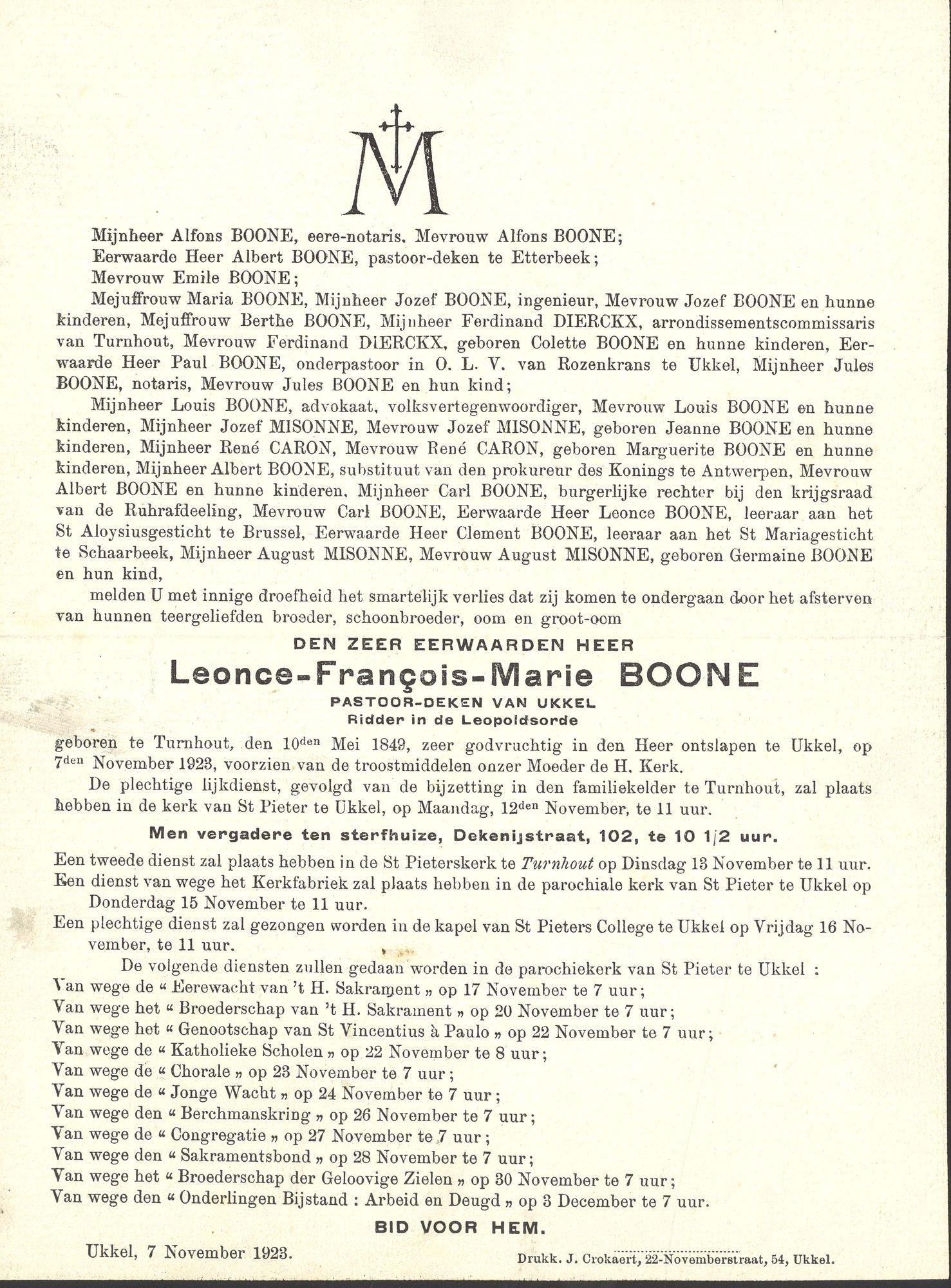 Leonce-François-Marie Boone