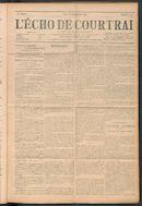 L'echo De Courtrai 1911-09-21 p1