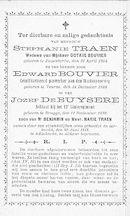 Stephanie Traen, Edward Bouvier en Jozef De Buysere