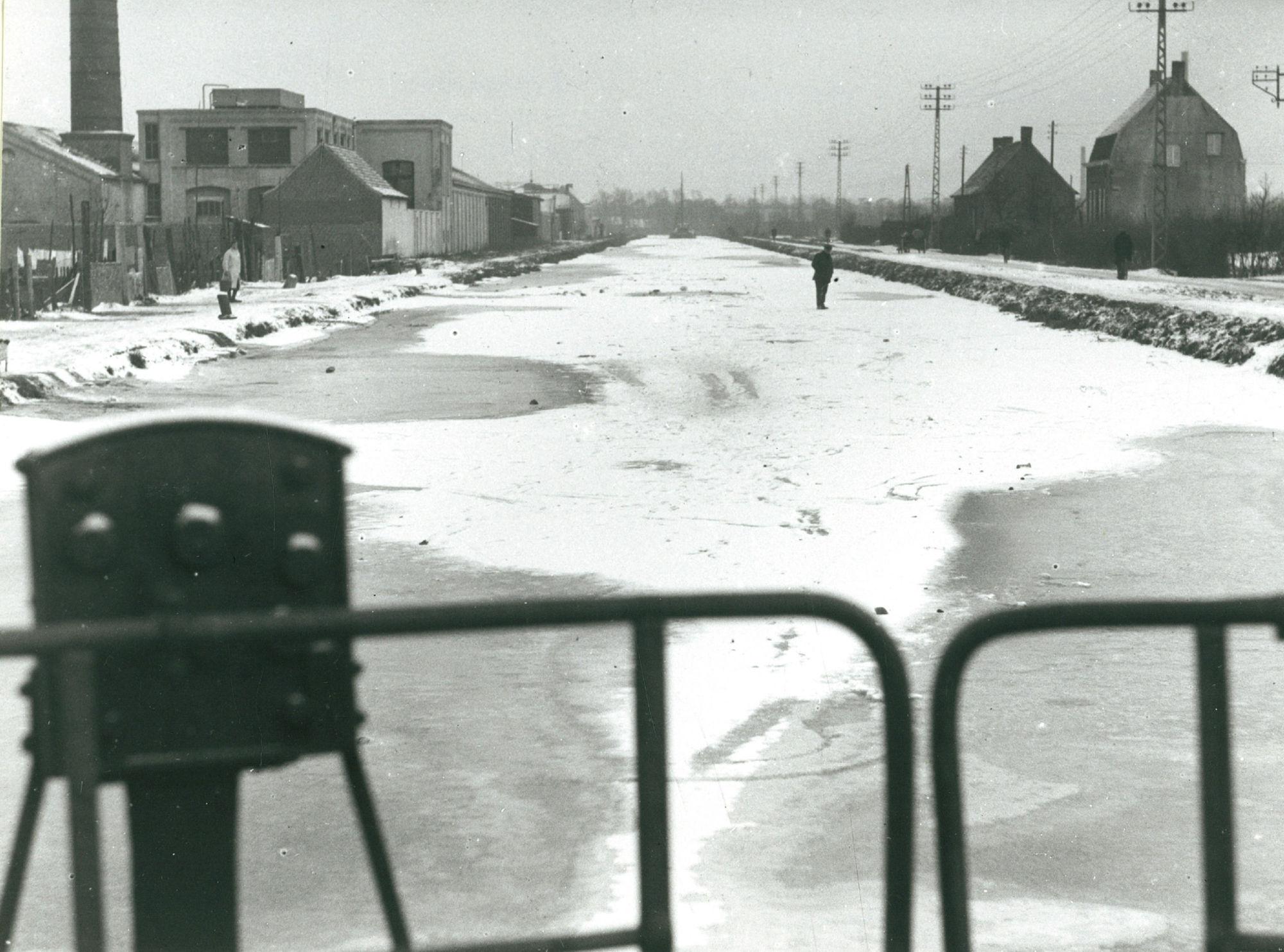 Kanaal Bossuit-Kortrijk in 1935