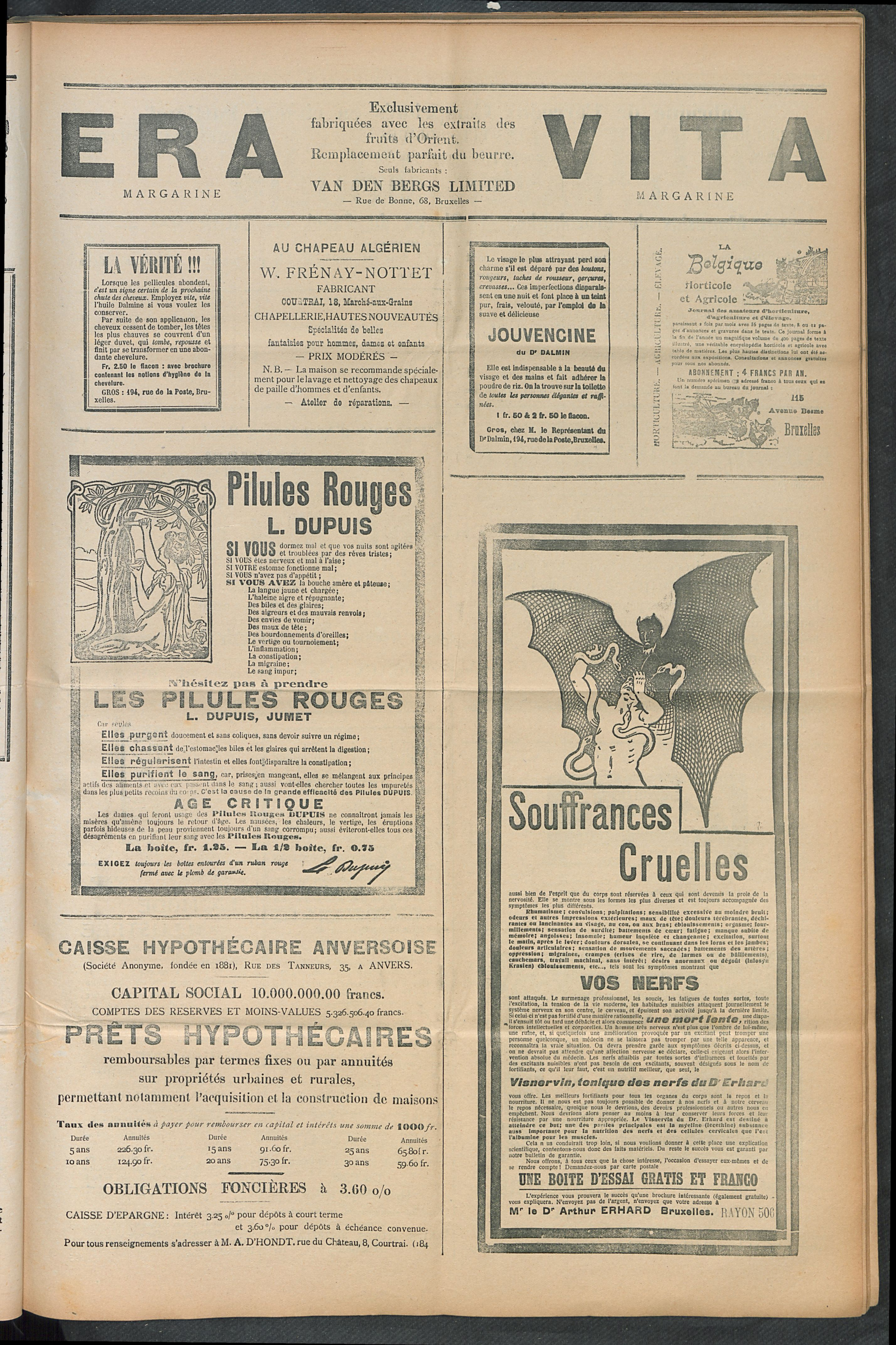 L'echo De Courtrai 1910-08-14 p5
