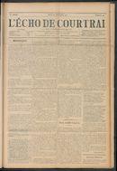 L'echo De Courtrai 1911-11-23