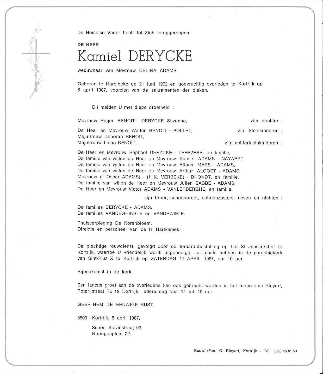 Kamiel Derycke