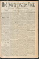 Het Kortrijksche Volk 1910-11-27
