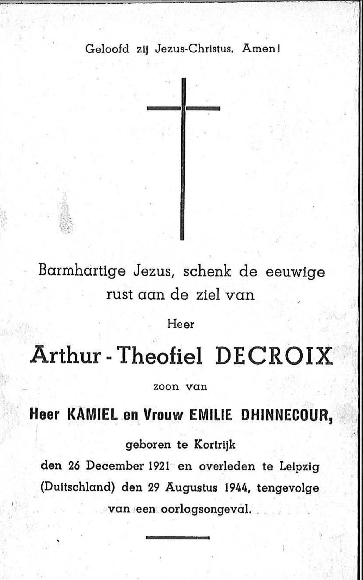 Arthur-Theofiel Decroix