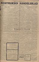 Kortrijksch Handelsblad 7 december 1945 Nr98