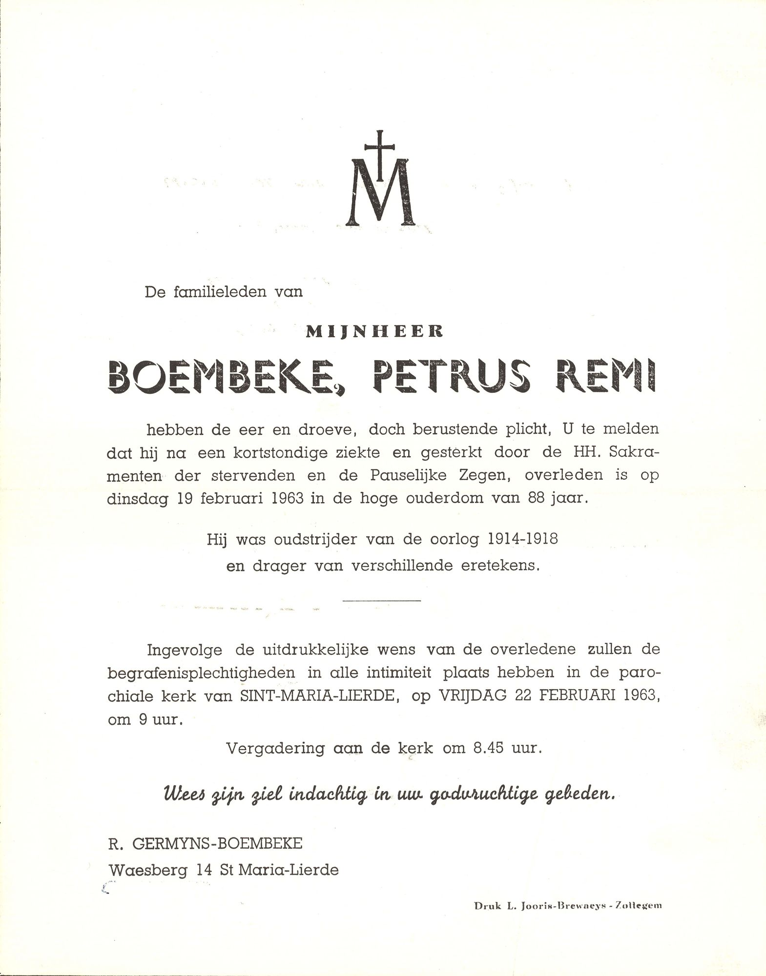Boembeke Petrus Remi