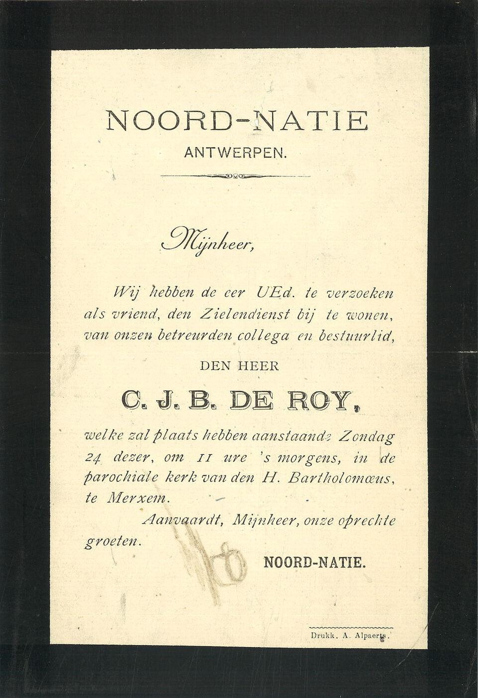 C.J.B. De Roy