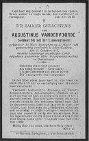 Vandervoorde Augustinus