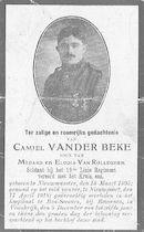 Vander Beke Camiel