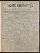Gazette Van Kortrijk 1908-11-08 p1