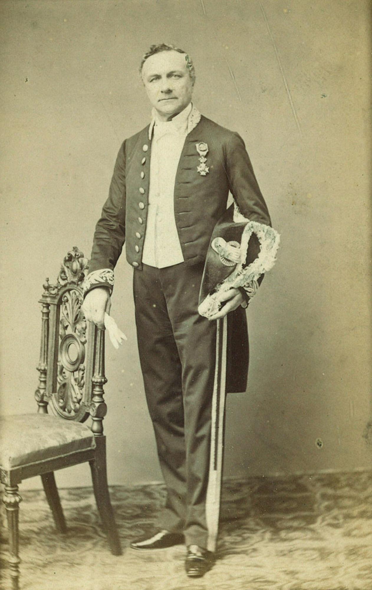 Benoit Danneel, eerste liberale burgemeester van Kortrijk