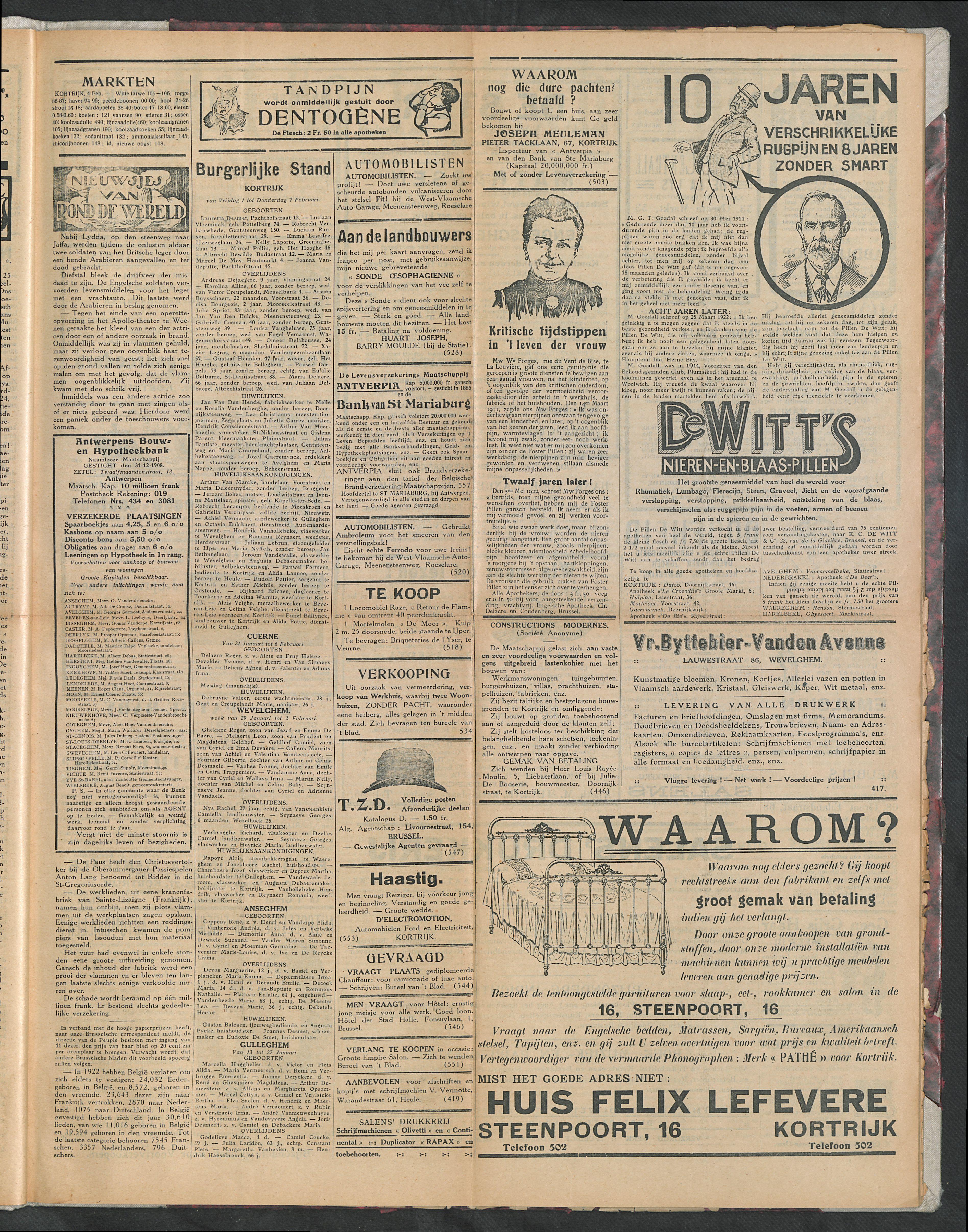 Het Kortrijksche Volk 1924-02-10 p3