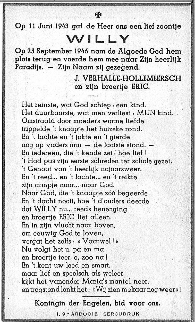Willy Verhalle