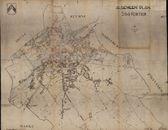 Plattegrond van de stad Kortrijk, 20ste eeuw
