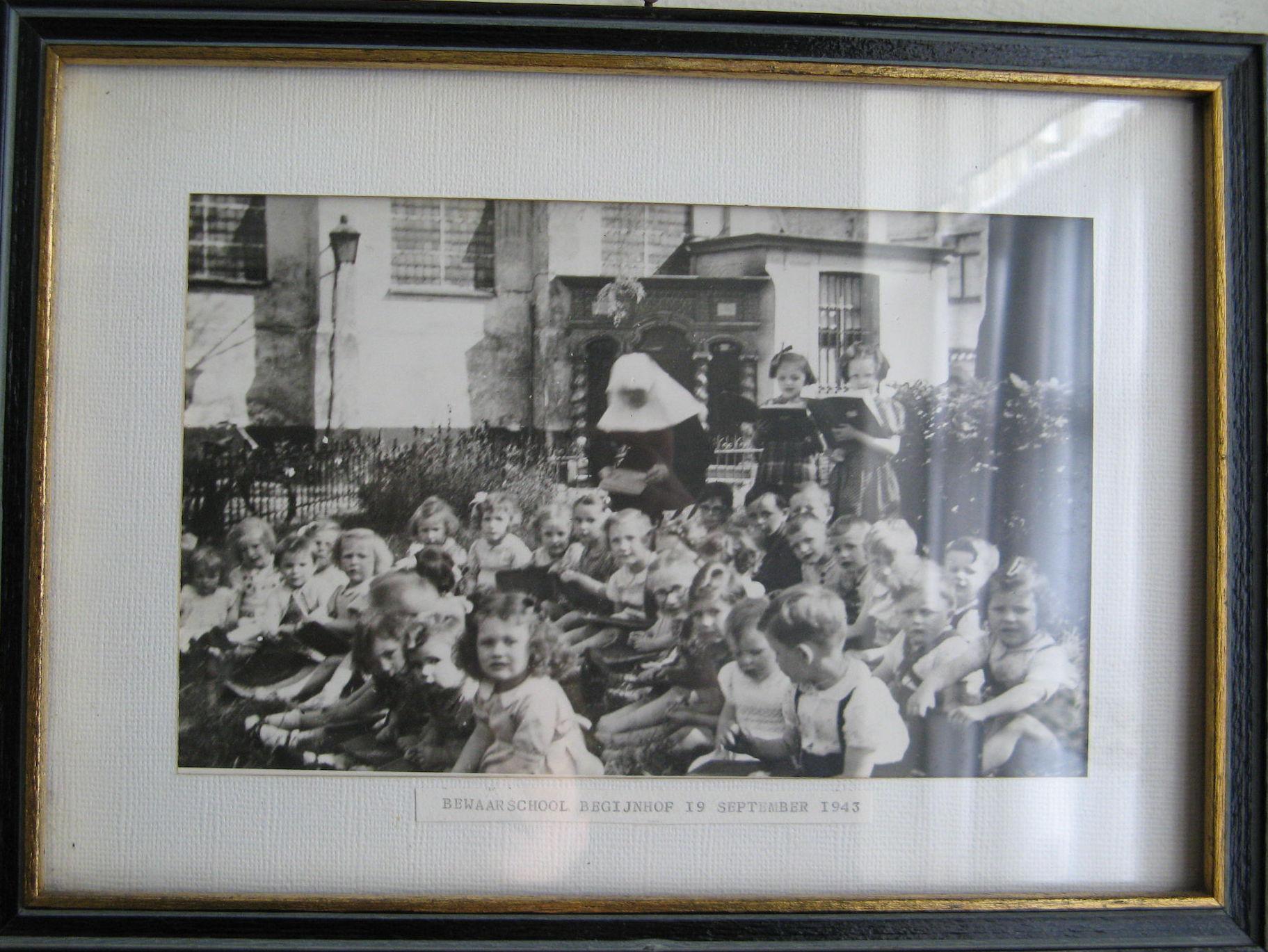 Bewaarschool van het Begijnhof 1943