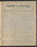 Gazette Van Kortrijk 1911-08-03 p1