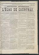 L'echo De Courtrai 1875-09-05