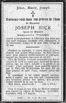 Joseph Hick