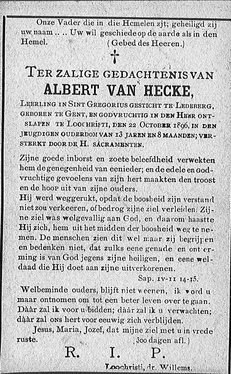 Albert Van Hecke