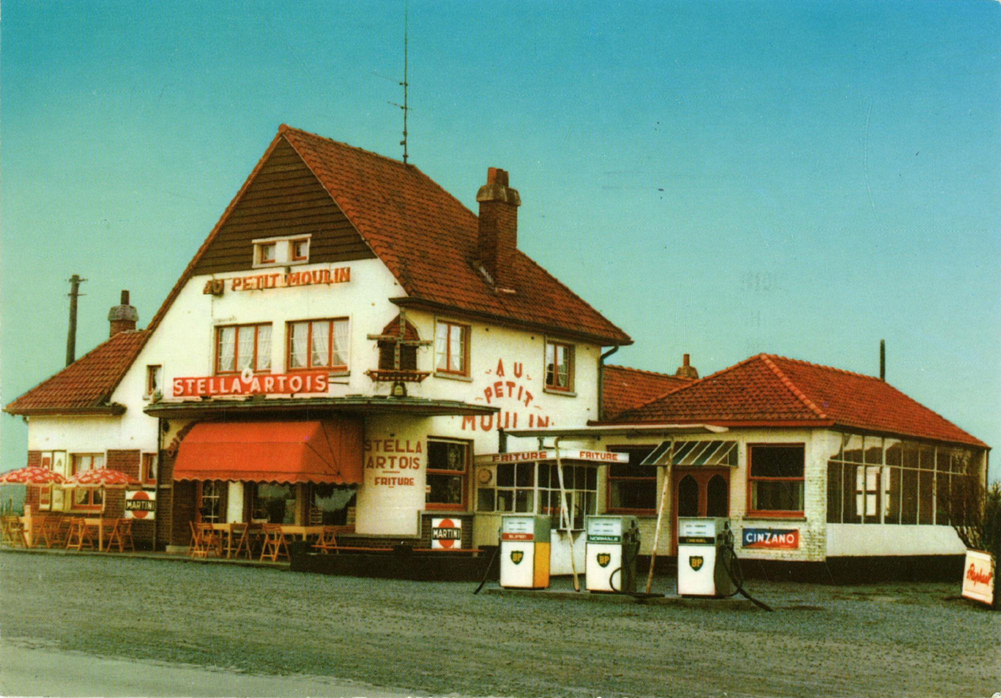 Frituur Au Petit Moulin te Kooigem