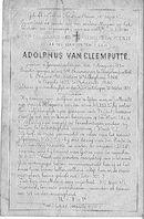 Adolphus Van Cleemputte
