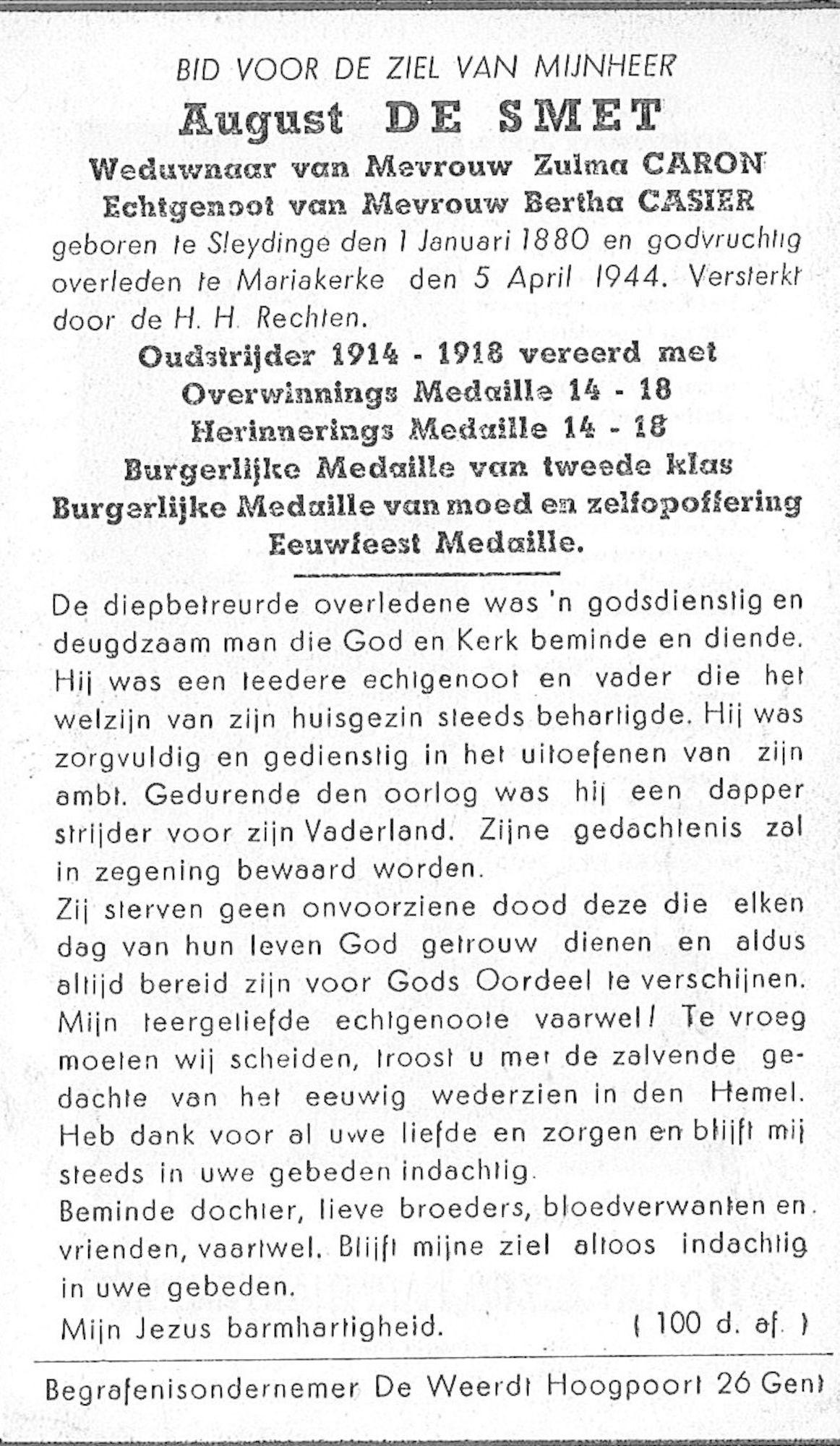 August De Smet