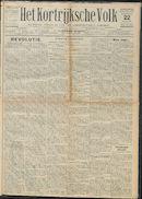 Het Kortrijksche Volk 1931-02-22