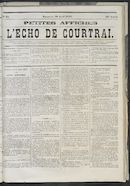 L'echo De Courtrai 1873-04-20 p1