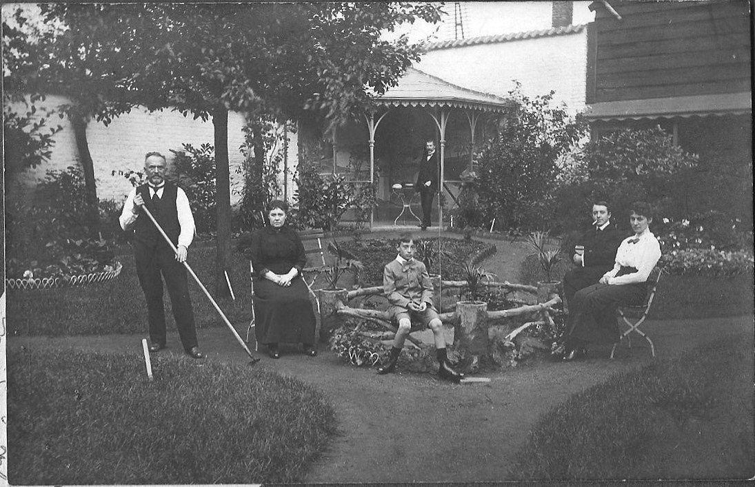 Henri Esquenet en Familie