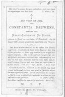 Constantia Bauwens