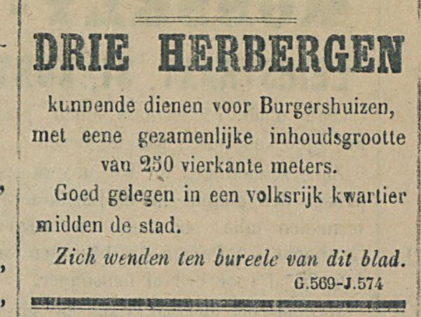 DRIE HERBERGEN