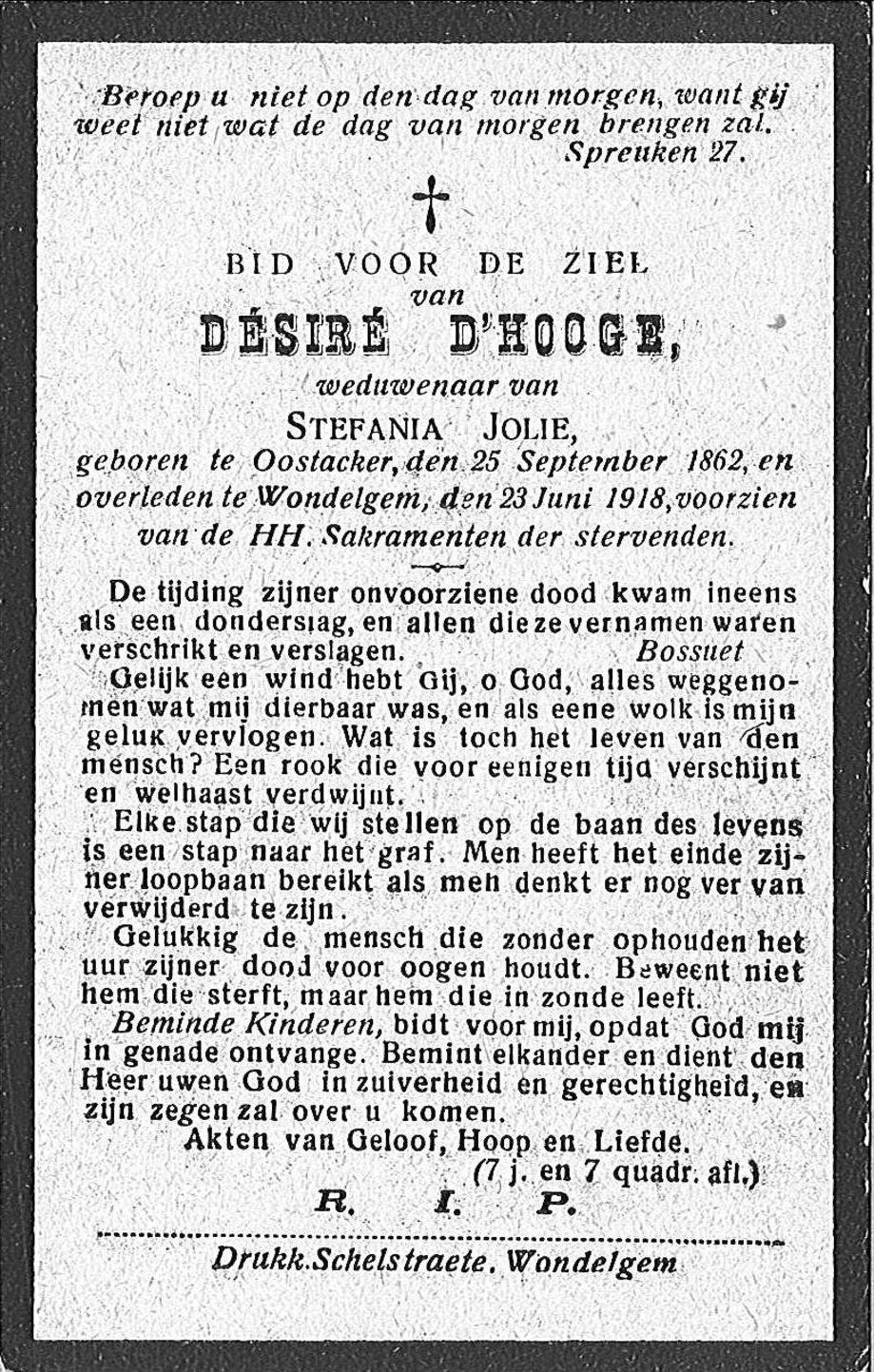 Désiré D'Hooge