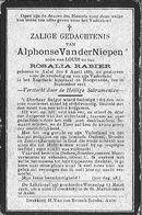 Alphonse VanderNiepen