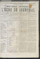 L'echo De Courtrai 1873-01-30