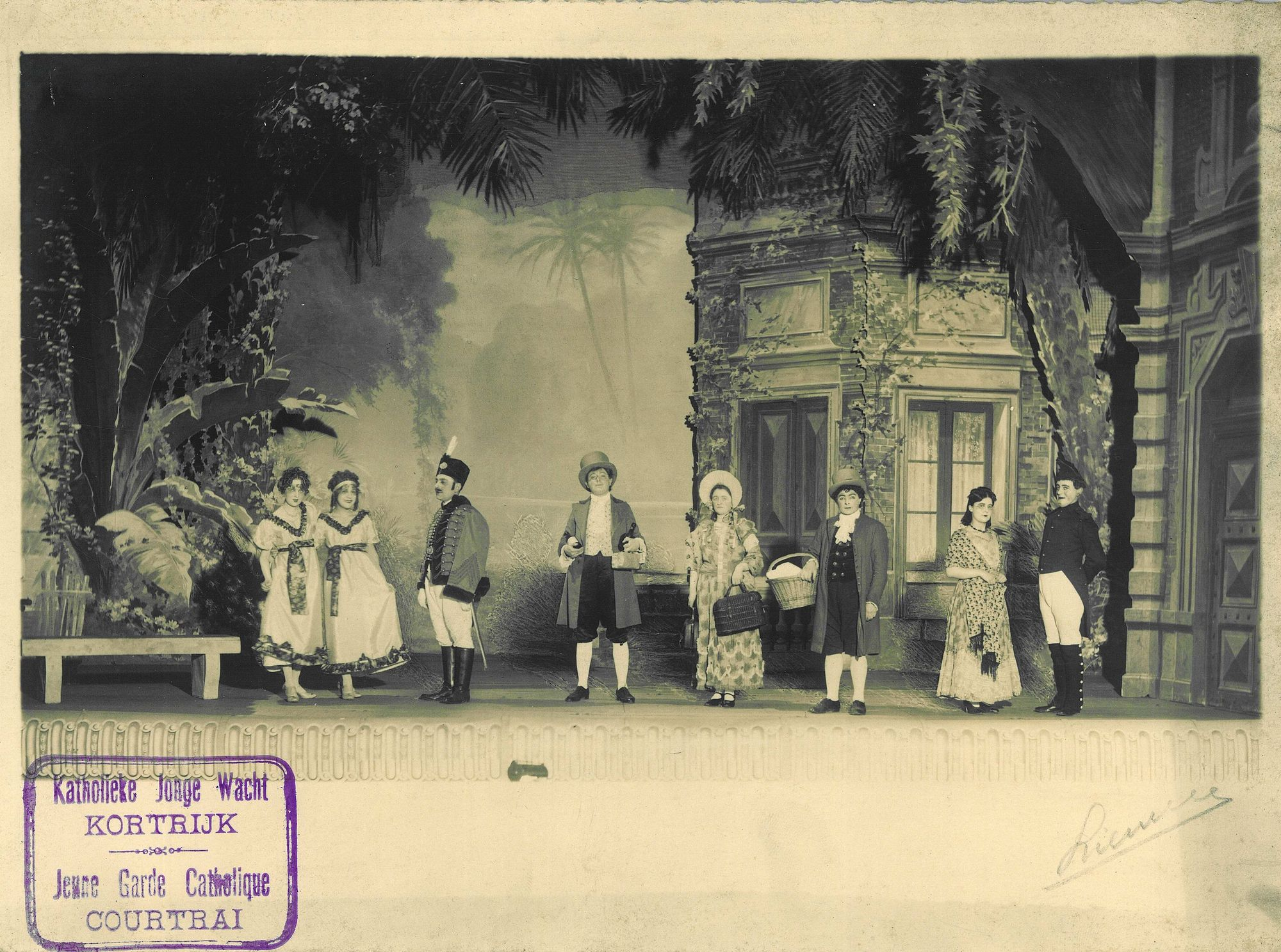 Katholieke Jonge Wacht in 1924