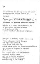 Vandermeersch Georges