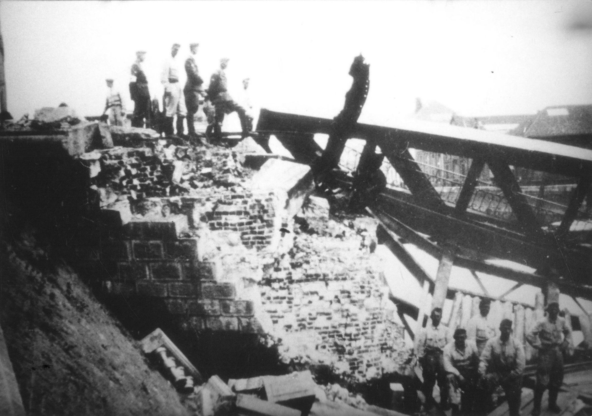 De Noordbrug in mei 1940