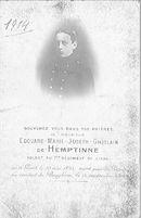 Edouard-Marie-Joseph-Ghislain de Hemptinne