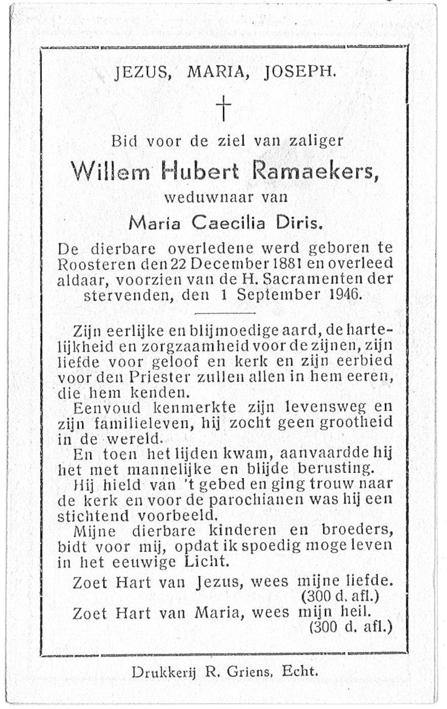 Willem Hubert Ramaekers