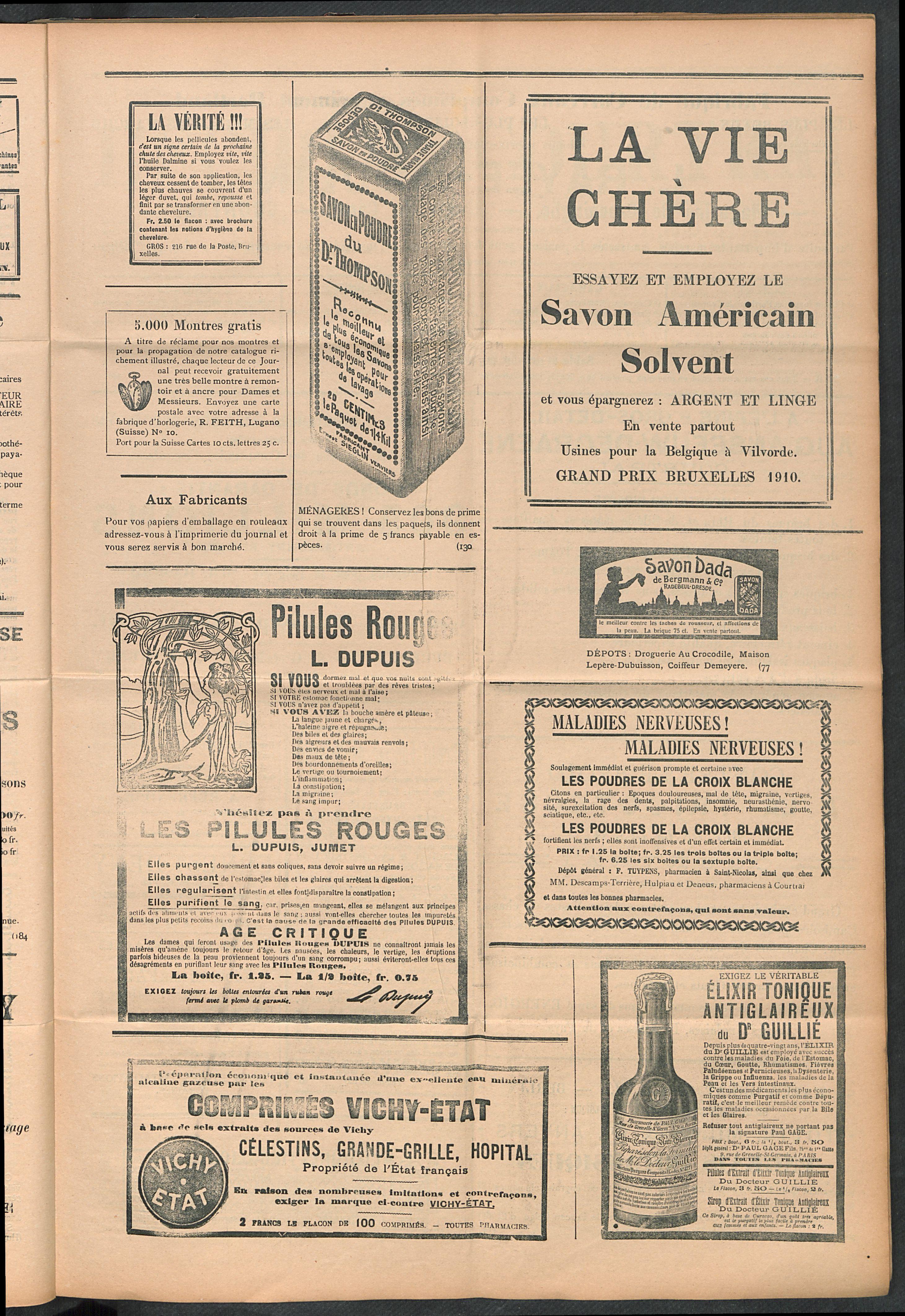 L'echo De Courtrai 1911-09-24 p5
