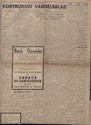 Kortrijksch Handelsblad 11 oktober 1946 Nr82 p1