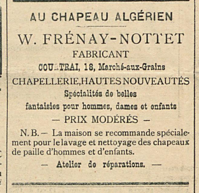 W. FRENAY- NOTTET